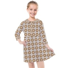 Antonimo Kids  Quarter Sleeve Shirt Dress by deformigo