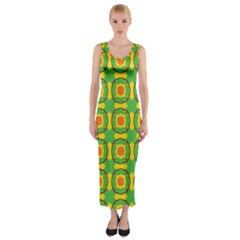 Nadallaa Fitted Maxi Dress by deformigo