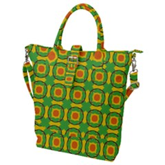 Nadallaa Buckle Top Tote Bag by deformigo