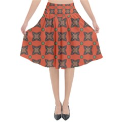 Geremea Flared Midi Skirt by deformigo