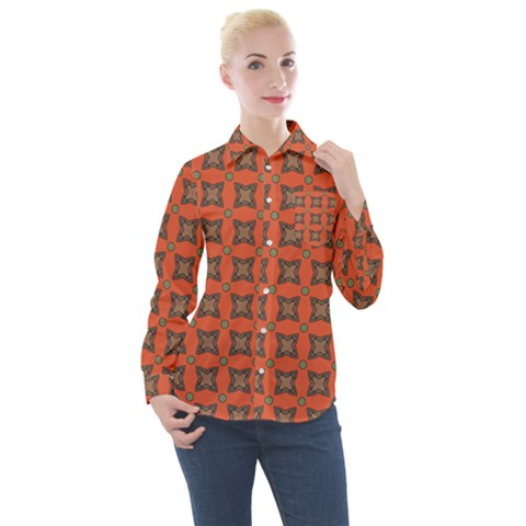 Geremea Women s Long Sleeve Pocket Shirt by deformigo