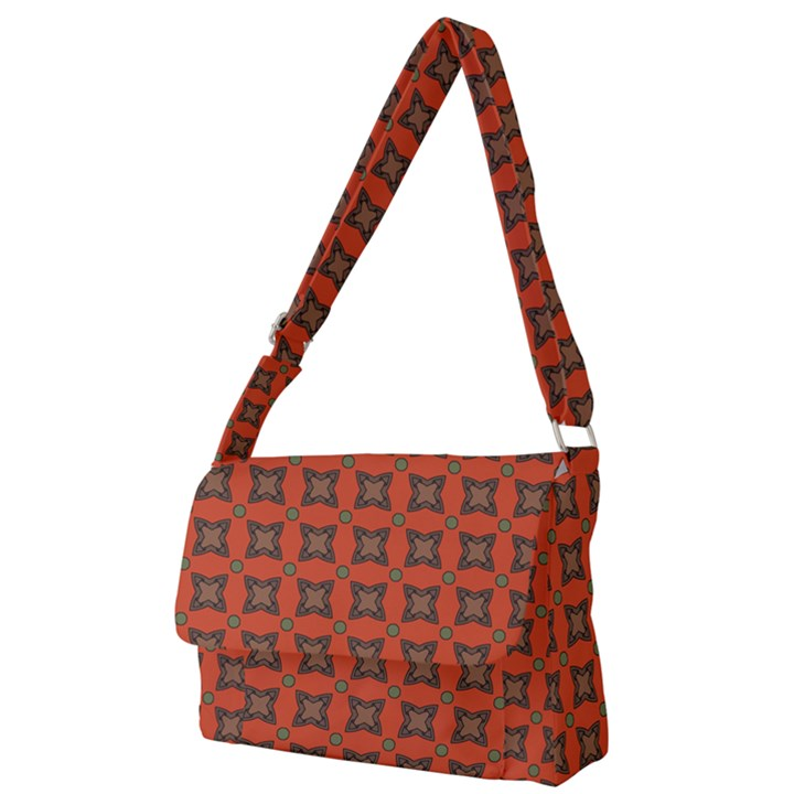 Geremea Full Print Messenger Bag (L)