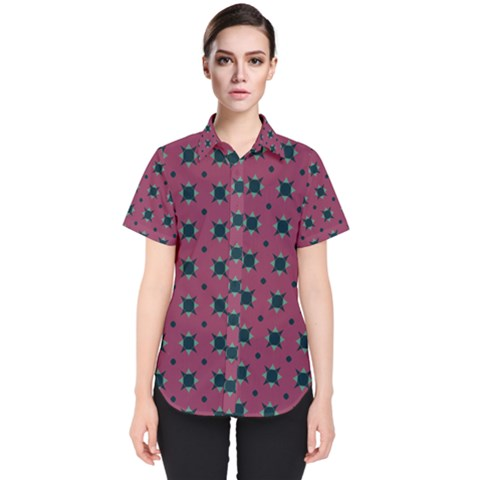 Sampolo Women s Short Sleeve Shirt by deformigo
