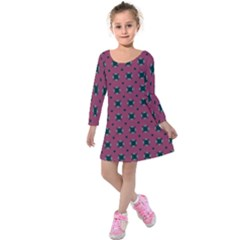 Sampolo Kids  Long Sleeve Velvet Dress by deformigo