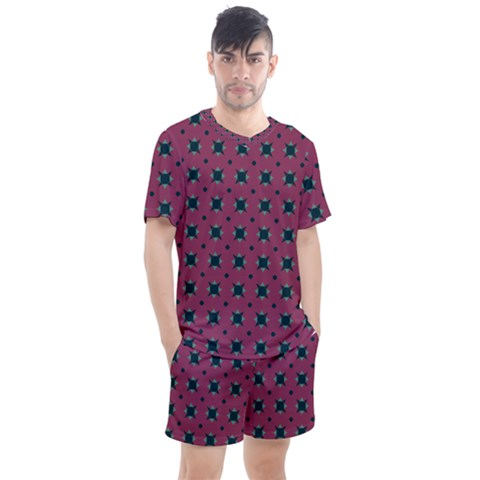 Sampolo Men s Mesh Tee And Shorts Set by deformigo