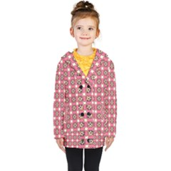 Marsal Kids  Double Breasted Button Coat