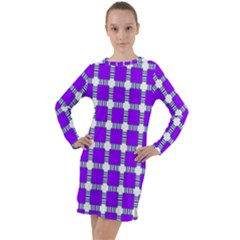 Tortola Long Sleeve Hoodie Dress by deformigo