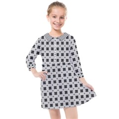 Chineo Kids  Quarter Sleeve Shirt Dress by deformigo