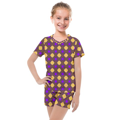 Mezzana Kids  Mesh Tee And Shorts Set by deformigo