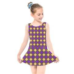 Mezzana Kids  Skater Dress Swimsuit by deformigo