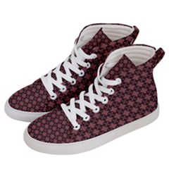 Chocolour Women s Hi Top Skate Sneakers by deformigo