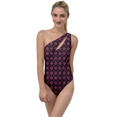 Chocolour To One Side Swimsuit by deformigo