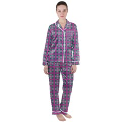 Viggianelli Satin Long Sleeve Pyjamas Set by deformigo
