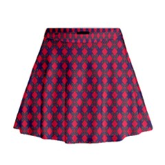 Flowerick Mini Flare Skirt by deformigo