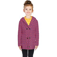 Flowerick Kids  Double Breasted Button Coat by deformigo