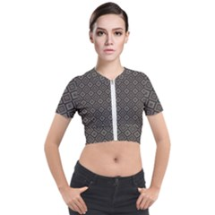 Dorris Short Sleeve Cropped Jacket by deformigo