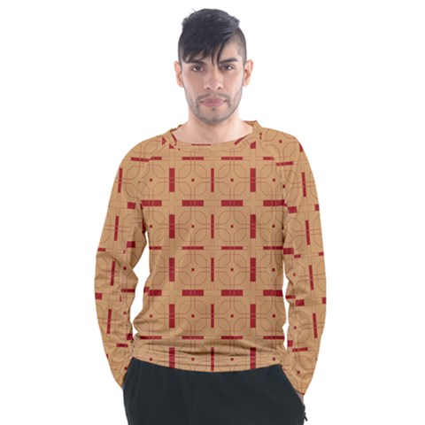 Tangra Men s Long Sleeve Raglan Tee by deformigo