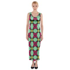 Nuria Fitted Maxi Dress by deformigo