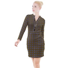 Mesori Button Long Sleeve Dress