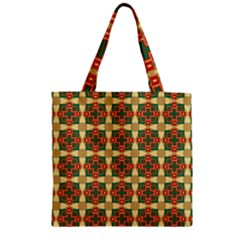 Sorobon Zipper Grocery Tote Bag by deformigo