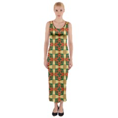 Sorobon Fitted Maxi Dress by deformigo