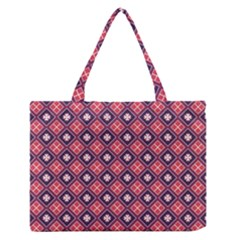 Alotia Zipper Medium Tote Bag by deformigo