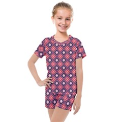 Alotia Kids  Mesh Tee And Shorts Set