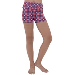 Alotia Kids  Lightweight Velour Yoga Shorts by deformigo
