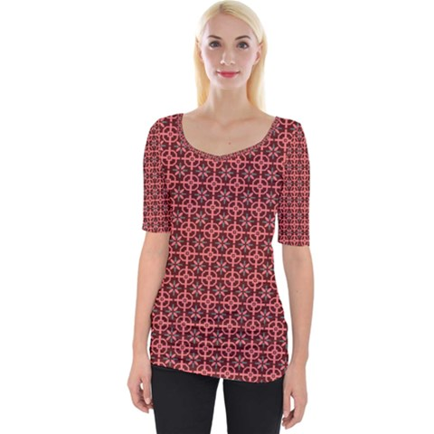 Anima Wide Neckline Tee by deformigo