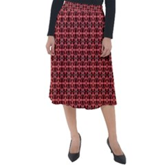 Anima Classic Velour Midi Skirt  by deformigo