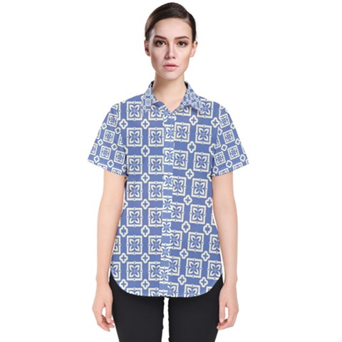 Laccadive Women s Short Sleeve Shirt by deformigo