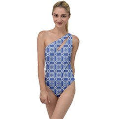 Laccadive To One Side Swimsuit by deformigo