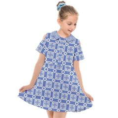 Laccadive Kids  Short Sleeve Shirt Dress by deformigo