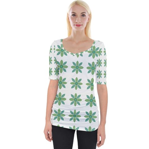 Reign Of Nature Wide Neckline Tee by deformigo