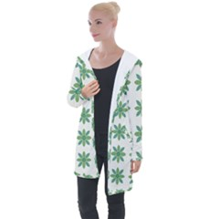 Reign Of Nature Longline Hooded Cardigan by deformigo