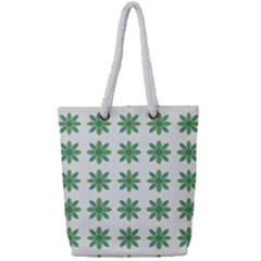 Reign Of Nature Full Print Rope Handle Tote (small)