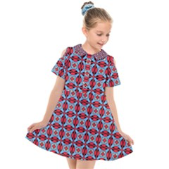 Janine Kids  Short Sleeve Shirt Dress by deformigo