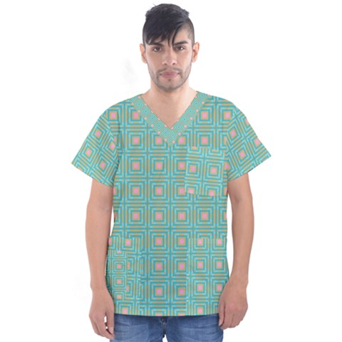 Baricetto Men s V Neck Scrub Top by deformigo