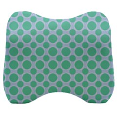 Gustavia Velour Head Support Cushion by deformigo