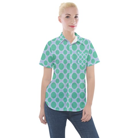 Gustavia Women s Short Sleeve Pocket Shirt by deformigo