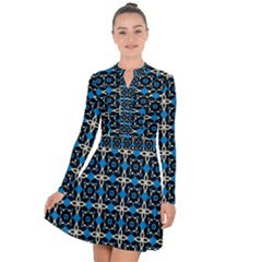 Benzu Long Sleeve Panel Dress by deformigo
