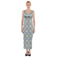 Altmeli Fitted Maxi Dress by deformigo