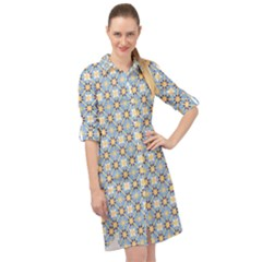 Altmeli Long Sleeve Mini Shirt Dress by deformigo