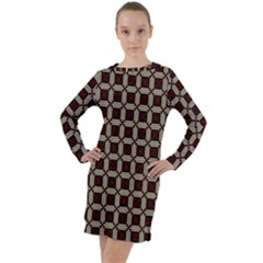 Pertamini Long Sleeve Hoodie Dress by deformigo