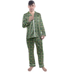 Keno Men s Satin Pajamas Long Pants Set by deformigo