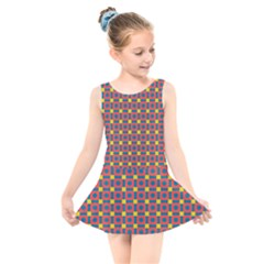 Senouras Kids  Skater Dress Swimsuit by deformigo