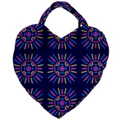 Papiamento Giant Heart Shaped Tote