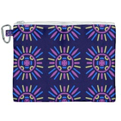 Papiamento Canvas Cosmetic Bag (xxl) by deformigo