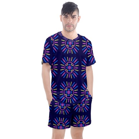 Papiamento Men s Mesh Tee And Shorts Set by deformigo