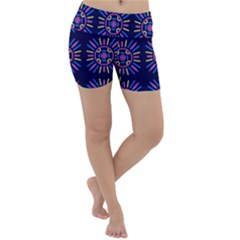 Papiamento Lightweight Velour Yoga Shorts by deformigo
